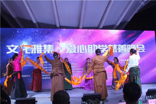 玉树、昌都儿童民族舞蹈表演